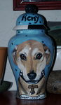 Large Ceramic Pet Dog Urn all breeds