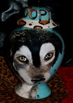 Custom medium Pet urn Husky ANY breed