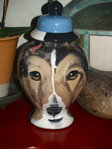 Custom medium Pet urn Collie Sheltie ANY breed