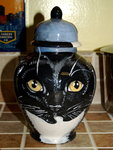 Small Ceramic Pet Dog Urn cat black cat all breeds