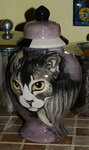 Medium Ceramic Pet Dog Urn CAT all breeds