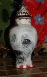 Sml Ceramic Pet Dog Urn cat all breeds