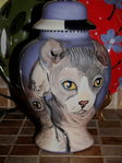 Medium Ceramic Pet Dog Urn Bull dog all breeds