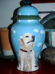 Large Ceramic Pet Dog Urn all larger breeds