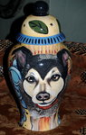 Large Ceramic Pet Dog Urn Shepherd all breeds