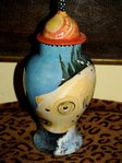 Small Ceramic pet Fish urn all breeds