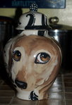 Small Ceramic Pet Dog Urn Dachshund cat all breeds