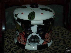 Treat CANNISTER w/ ANY Breed painted on it! (small) CUSTOM